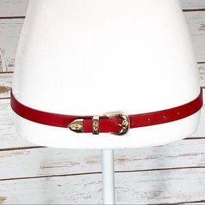 Red and Gold Belt Size Extra Small / Small